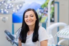 Zahnarztassistentin Jasna SAVRAN