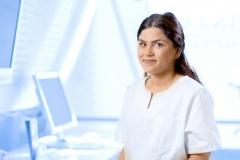 Zahnärztliche Assistentin Zehra Cakir