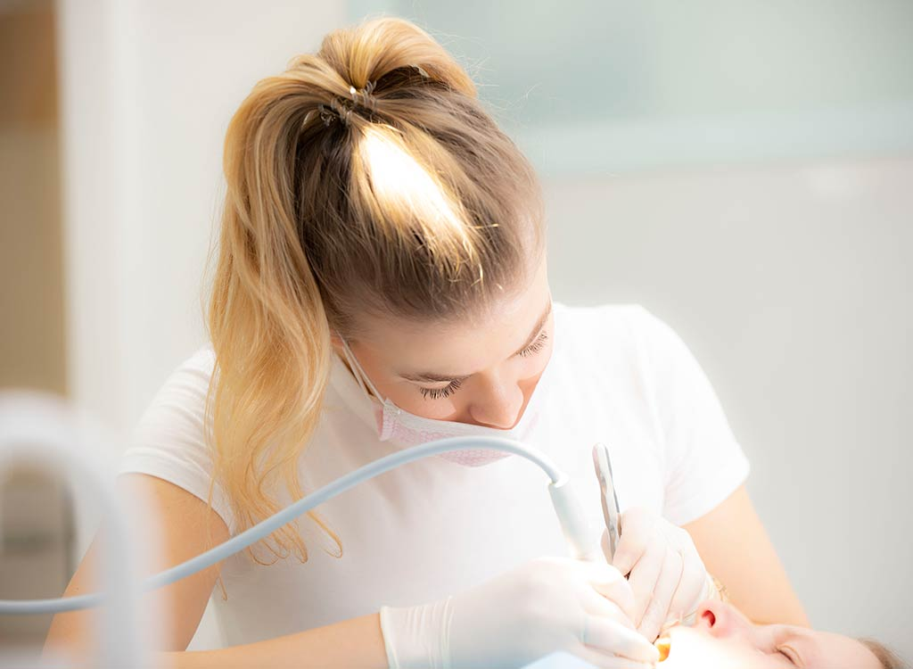 Zahn Prophylaxe